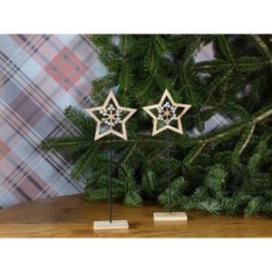 Star Obiect Decorativ 11,5x4,3x29,8 Cm Natural
