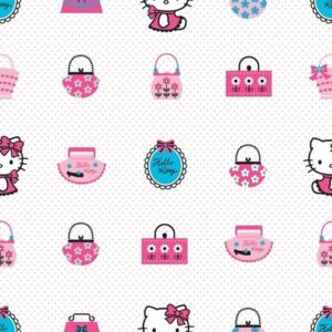 Rola tapet 10 X 0,52m Hello Kitty Fashion TA73499