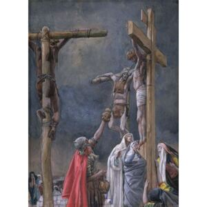 I Thirst. The Vinegar Given to Jesus, illustration for 'The Life of Christ', c.1884-96 Reproducere, James Jacques Joseph Tissot