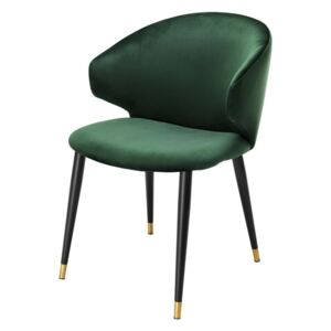 Scaun dining verde Volante Dining Chair With Arm