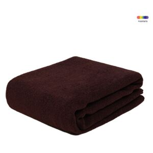Pled maro din poliester 130x170 cm Febe Bitter Chocolate LifeStyle Home Collection