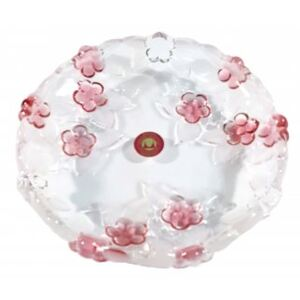 Platou decorativ rotund CARMEN SATIN ROSE, 16 cm
