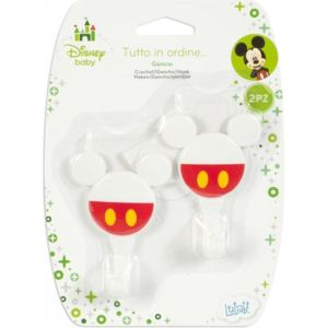 Set 2 carlige Mickey Lulabi 8139400