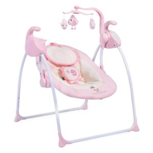 Leagan electric cu conectare la priza Sweet Star+ Pink