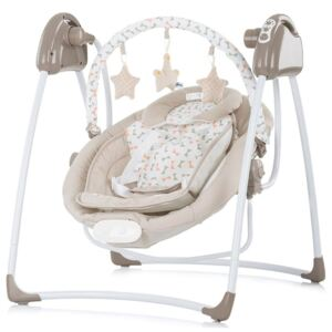 Chipolino - Leagan electric si balansoar Paradise Beige ribbon