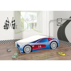 MyKids - Pat tineret Race Car 02 160x80, Blue