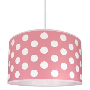 Lampa copii DOTS PINK 1xE27/60W/230V