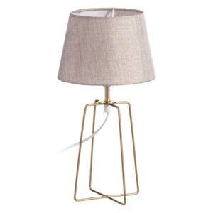 Veioza crem/alama Table Lamp Cream/Gold Ø 20cm H 37cm