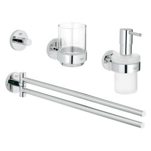 Set accesorii 4 in 1 Master bathroom Grohe Essentials