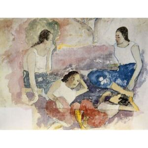 Tahitian Women, from 'Noa Noa, Voyage a Tahiti', published 1926 Reproducere, Paul Gauguin