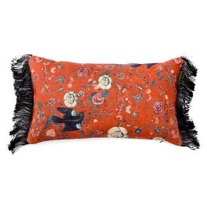 Perna decorativa Black Bird Red