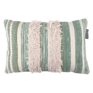 Perna decorativa dreptunghiulara verde din bumbac 40x60 cm Zac LifeStyle Home Collection