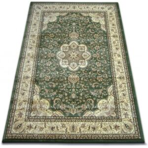 Covor Royal Agy model 0521 inchis verde 100x200 cm