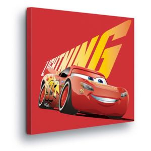 GLIX Tablou - Disney MacQueen Cars III 80x80 cm