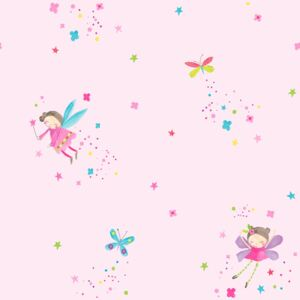 Arthouse Tapet - Fairy Dust Fairy Dust Pink