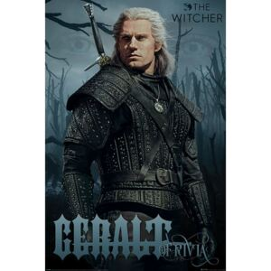 Poster The Witcher - Geralt of Rivia, (61 x 91.5 cm)