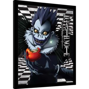 Afiș înrămat Death Note - Ryuk Checkered