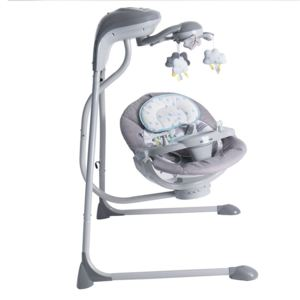Leagan electric Baby Swing Angels Hug cu conectare la priza