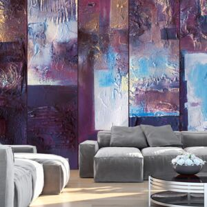 Tapet Bimago - Winter evening - abstract + Adeziv gratuit rulou 50x1000 cm