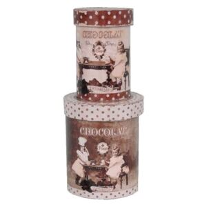 Set 2 cutii Antic Line Choco Kids
