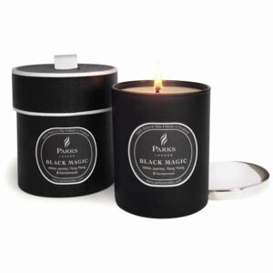 Lumânare parfumată Parks Candles London Magic, aromă de iasomie, durată ardere 50 de ore