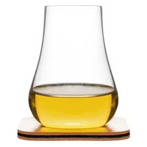 Pahar pentru whiskey cu suport Sagaform Whiskey Tasting Set, 150 ml
