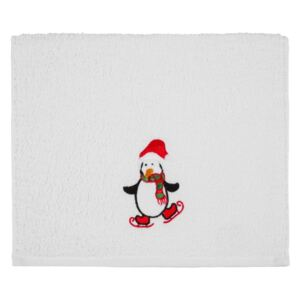 Prosop Christmas Penguin White, 30 x 50 cm