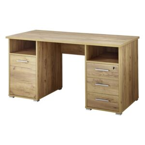 Birou, decor lemn de stejar Germania Desk