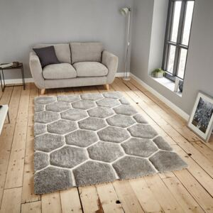 Covor Think Rugs Noble House, 120 x 170 cm, gri