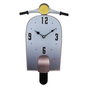 Ceas de perete Antic Line Scoot Bleu