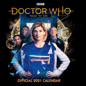 Doctor Who - The 13Th Doctor Calendar 2021