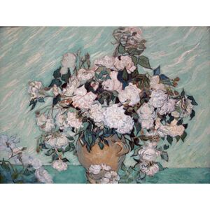 Reproducere tablou Vincent van Gogh - Rosas Washington, 60 x 45 cm