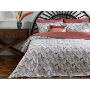 Bumbac Unic Set Cover Duvet 160 Ml Bej - Gri - Crem