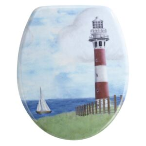 Capac WC Wenko Lighthouse, 44,5 x 36,5 cm