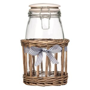 Recipient din sticlă Premier Housewares Country Cottage, 1,5 l
