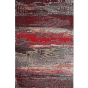 Covor Eco Rugs Red Abstract, 80 x 150 cm