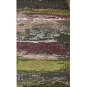 Covor Eco Rugs Green Abstract, 80 x 150 cm