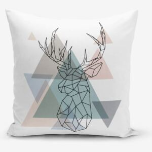 Față de pernă Minimalist Cushion Covers Deer, 45 x 45 cm