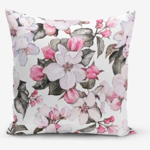 Față de pernă Minimalist Cushion Covers Flower Pink, 45 x 45 cm