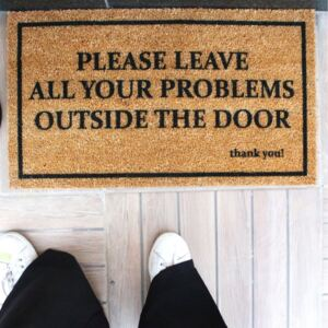 Preș Doormat Problems, 70 x 40 cm