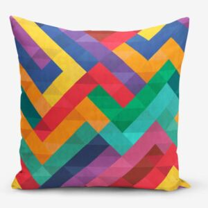 Față de pernă Minimalist Cushion Covers Colorful Geometric Desen, 45 x 45 cm
