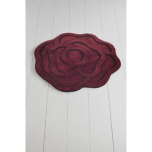 Covor de baie Big Rose Kirmizi, ⌀ 90 cm, mov
