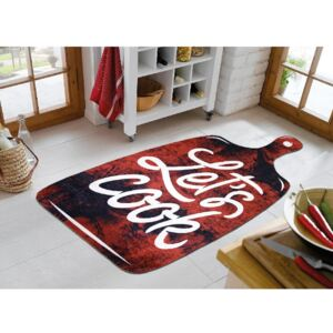 Covor Vitaus Lets Cook Red, 80 x 120 cm