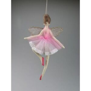 Decoratiune FAIRY PINK 24CM - Roz