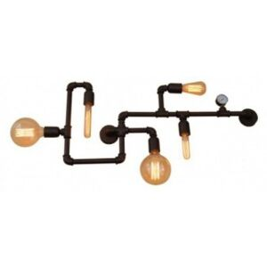 Plafoniera vintage 5 becuri E27 MOMUS 77-2812 HOME LIGHTING