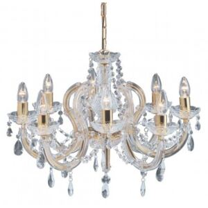 Candelabru cristal MARIE THERESE E14 699-8 SEARCHLIGHT