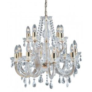Candelabru cristal MARIE THERESE E14 699-12 SEARCHLIGHT
