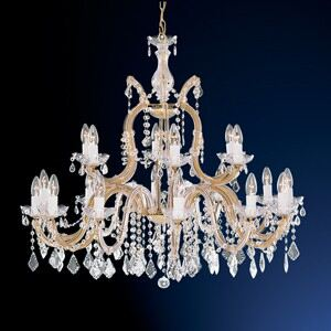 Candelabru cristal MARIE THERESE E14 1214-18 SEARCHLIGHT