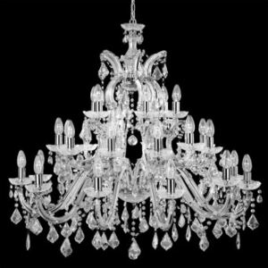 Candelabru cristal MARIE THERESE E14 3314-30 SEARCHLIGHT