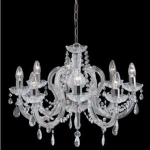 Candelabru cristal MARIE Therese E14 399-8 SEARCHLIGHT
